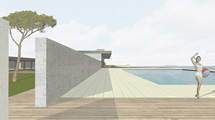 new bathing area, Waterfront, Locarno,