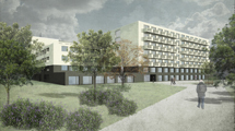 New rest home and residential buildings Eichrain