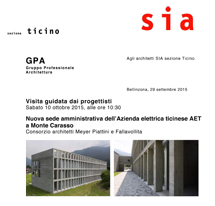 New Heaquarters of AET in Monte Carasso